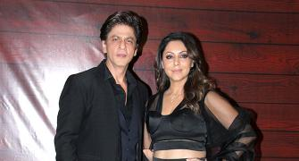 PIX: Deepika, Katrina party with Shah Rukh