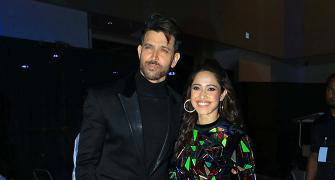PIX: Hrithik mingles with Nushrat at Umang