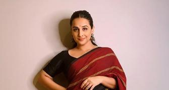 Exclusive! Vidya Balan, As Never Before!