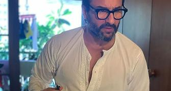 'Taimur is having a good time'. The Saif Interview