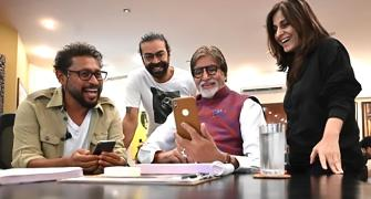 'We challenge Mr Bachchan, and he challenges us'