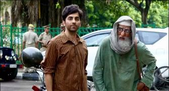 Amitabh-Ayushmann's Gulabo-Sitabo on Amazon first!