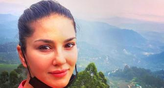 Sunny Leone goes hiking