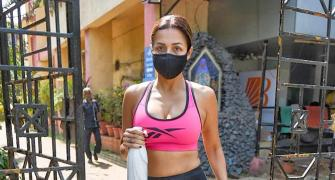 SPOTTED: Malaika goes to the gym