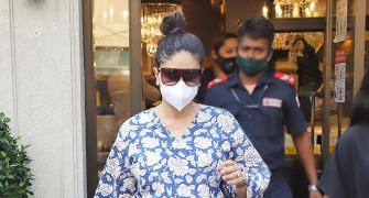 Where is Kareena off to?
