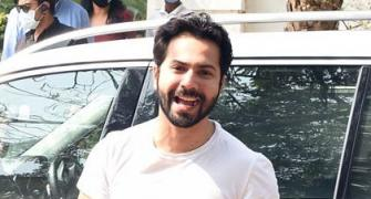 PIX: Varun arrives for his wedding