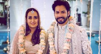 PIX/VIDEOS: Meet Mr and Mrs Varun Dhawan