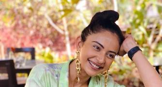 Rakul Singh's million dollar smile!