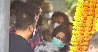 Shehnaaz Gill at Sidharth Shukla's funeral