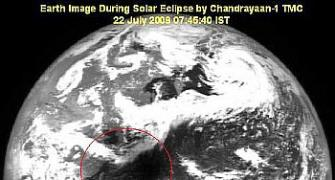 Chandrayaan captures eclipse moments