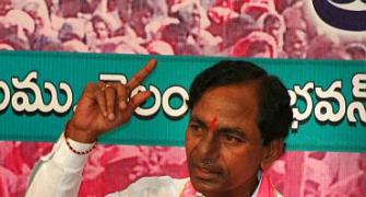 TRS sweeps Telangana by-polls, wins 11 of 12 seats