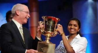 Indian American girl becomes Spelling Bee champion