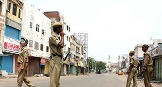 Uneasy peace prevails in curfew-hit Hyderabad