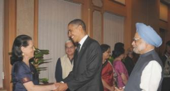 PIX: Obamas meet India's high and mighty