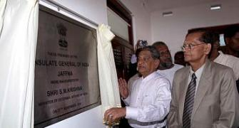 Krishna inaugrates Indian mission in Jaffna