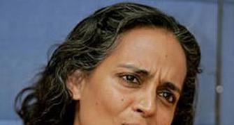 No need for hasty action against Arundhati Roy