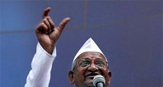 'By jailing Hazare govt looked inept, undemocratic'