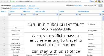 Mumbai blasts: A web of support for victims