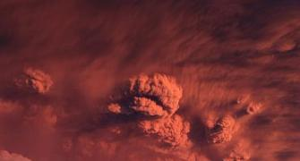 Spectacular PHOTOS of Chilean volcano eruption