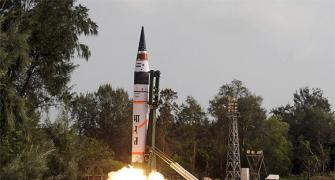 Agni-5 can deliver a nuclear bomb anywhere in China