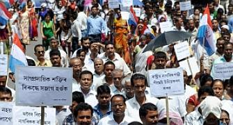 Oppn AGP brings out rally in Guwahati against violence