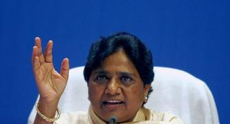Mayawati demolishes Modi's aura