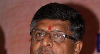 SIT on blackmoney is a priority for Law Minister Ravi Shankar Prasad