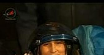 Sunita Williams back home after 4 months in space