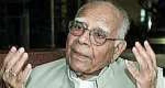 BJP asks Ram Jethmalani why he shouldn't be expelled