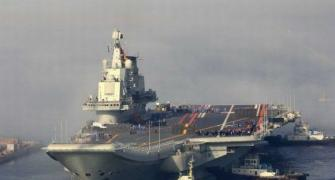 In PHOTOS: China gets its first aircraft carrier