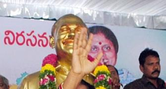 YSR Cong, TDP draw battle lines over formation of Telangana