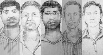 Mumbai police release sketches of 5 accused in gang rape case