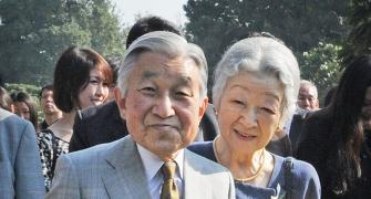 My rendezvous with the Japanese royals