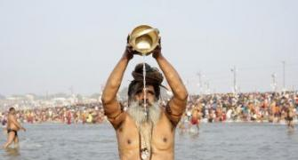 Crores arrive for Kumbh dip on 'Mauni Amavasya'