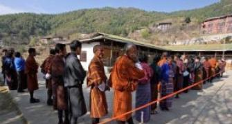 India provides EVMs, CEC in Bhutan to witness polls