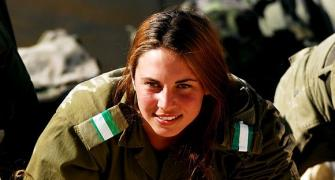 PHOTOS: Israeli women soldiers in the line of fire