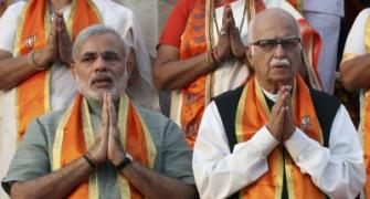 Modi and Advani: The two faces of BJP's Hindutva