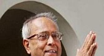 Pranab gifts computers, classrooms to in-laws' village