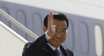 IN PHOTOS: Chinese premier's three-day India visit begins