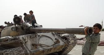Children of war: When tanks replace toys