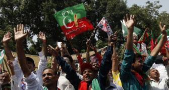 Pakistan marks I-Day with anti-government protests
