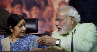 The desperation of Sushma Swaraj