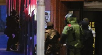 PHOTOS: The moment police decided to storm Sydney cafe