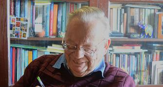 Ruskin Bond: If I can't write, I might as well be dead
