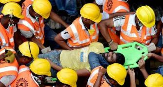 Man found alive after 72 hours in Chennai building rubble
