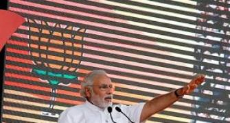 Don't touch my feet, work hard to show respect: Modi tells MPs