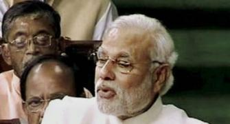 Modi's first speech in Parl: Don't want to move forward without oppn