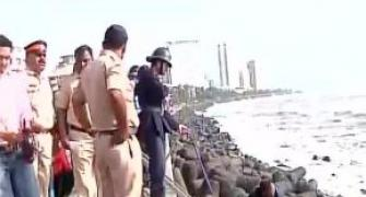 One dead, another injured as tides lash Mumbai shores