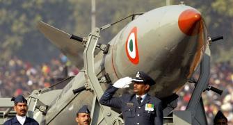 Rajnath on no-first-strike: Hiss of the cobra