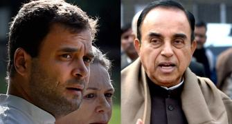 Swamy gives Gandhis the jitters